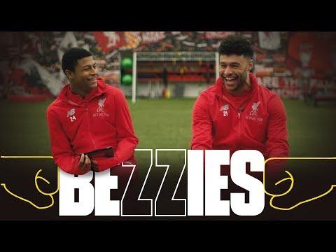 BEZZIES with Ox and Brewster   Ox sings 'Allez Allez Allez'