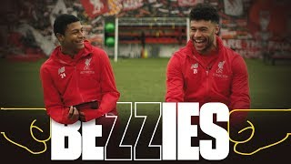BEZZIES with Ox and Brewster | Ox sings 'Allez Allez Allez'