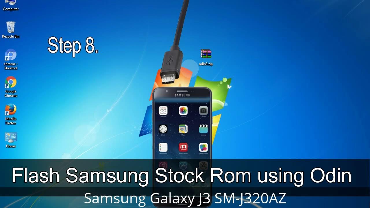How to Samsung Galaxy J3 SM-J320AZ Firmware Update (Fix ROM)