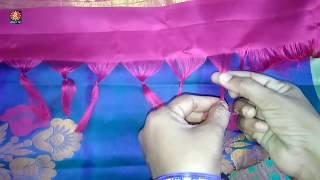 How To Make Saree Kuchu Easily I Saree Tassels I Kuchu Making Video I Bridal Pattu Saree Kuchu