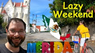 Going On A Bike Ride to The Mall in Merida Mexico - Living In Merida Yucatan Mexico