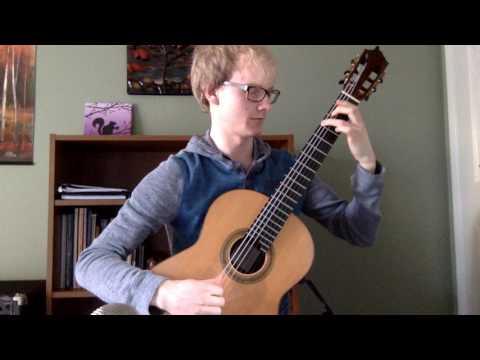 Lennox Berkeley, Quatre Pièces pour la Guitar: IV. Allegro, Energico - Michael Bemmels, Guitar