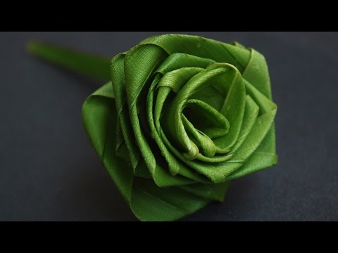 Rose Flower with coconut leaf In Nature Arts By Srujana TV