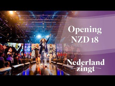 Nederland Zingt Dag 2018: De opening