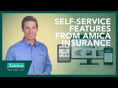 Self-Service Features from Amica Insurance