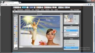 Фотошоп онлайн - режимы наложения (Урок 7)
