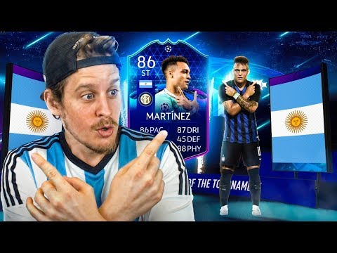 THE BEST TOTT CARD?! 86 TEAM OF THE TOURNAMENT MARTINEZ PLAYER REVIEW! FIFA 20 Ultimate Team