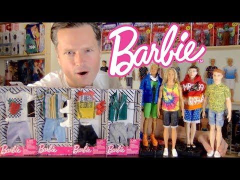 2020 KEN DOLLS GET 2020 FASHION PACK MAKEOVERS: BARBIE BMR 1959 FASHIONISTAS UNBOXING REVIEW