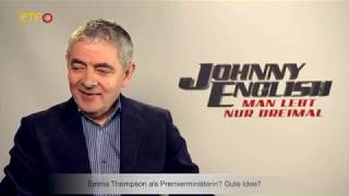 Johnny English: Man lebt nur dreimal - Interview mit Rowan Atkinson
