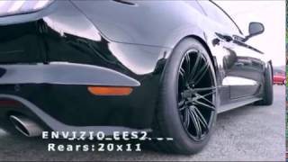 "Ford Mustang rolling on 20"" ENVIZIO EFS2 l Stylish Wheels"