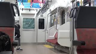 東北本線 新白河駅 ダイヤ改正直前 黒磯行最終列車 4154M発車 2019.03.15