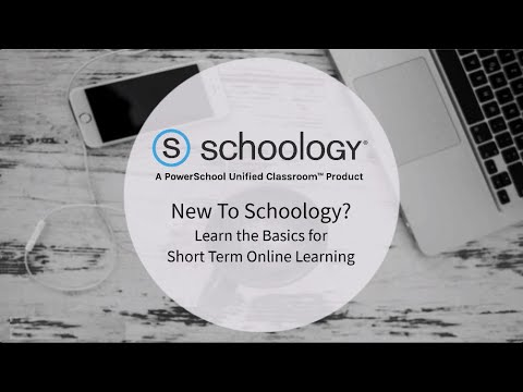 New to Schoology? Learn the Basics for Online Learning