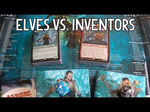 Duel Decks: Elves vs. Inventors Unboxing [Deutsch]