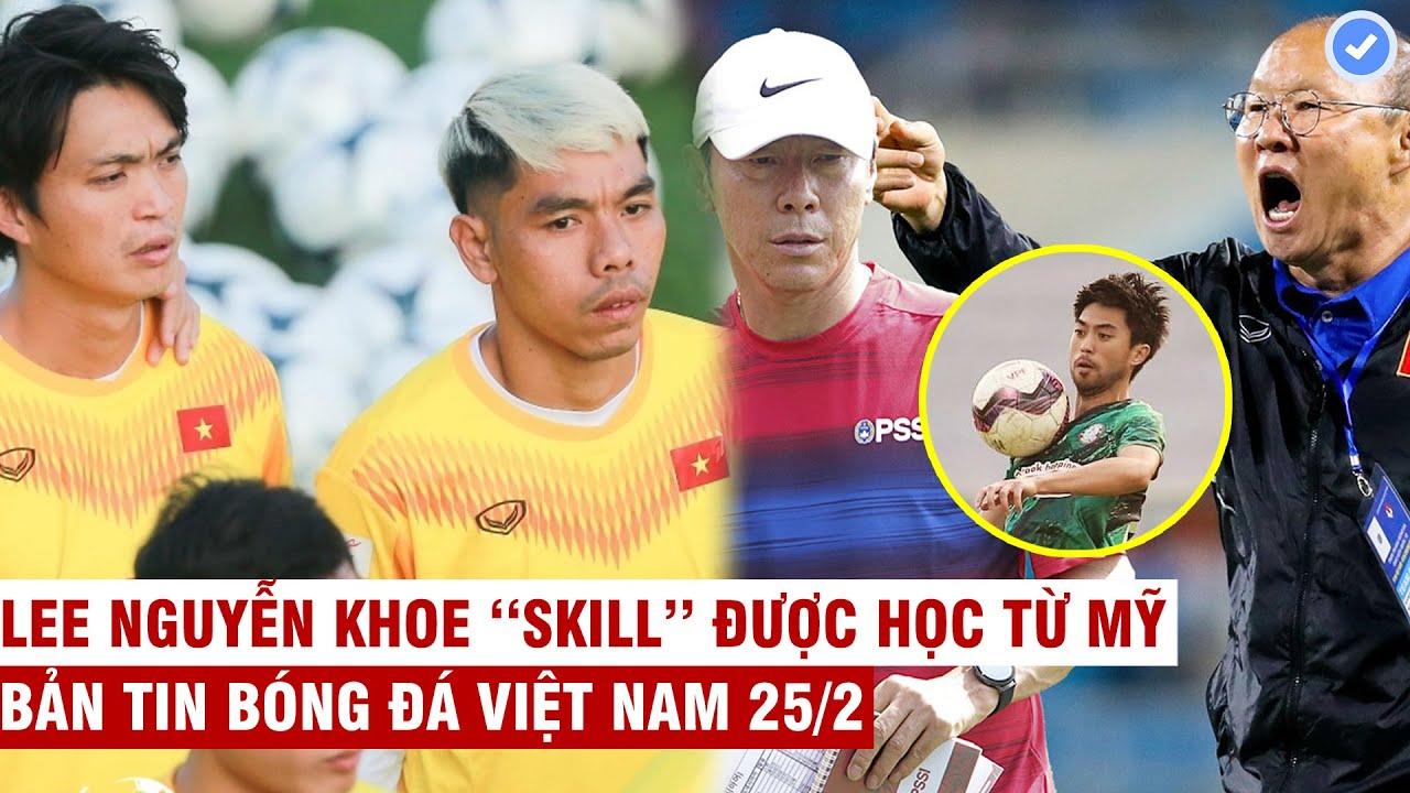 VN Sports 25/2 | Thêm 1 tuyển thủ VN sang Nhật, báo Indo: HLV Park ra đi - chúng ta sẽ là Vua ĐNÁ