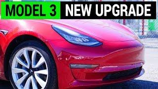 Tesla Model 3 Gets More Updates