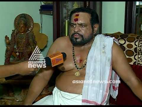 Rahul Easwer doesn't have any relation with Tantri Family; says Tantri Kandararu Mohanaru