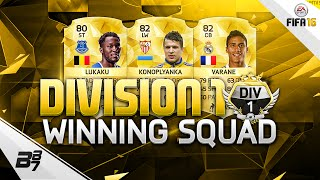 FIFA 16 | SUPER SWEATY SQUAD BUILDER! w/ LUKAKU AND KONOPLYANKA