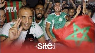 السعيدية.. فرحة هستيرية لمغاربة بتتويج الجزائر وجزائري يوجه رسالة موثرة للسياسيين