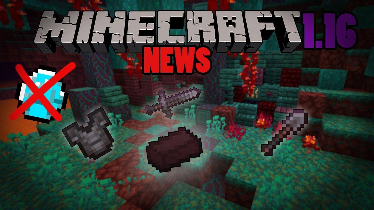 Minecraft news : Update la Nether