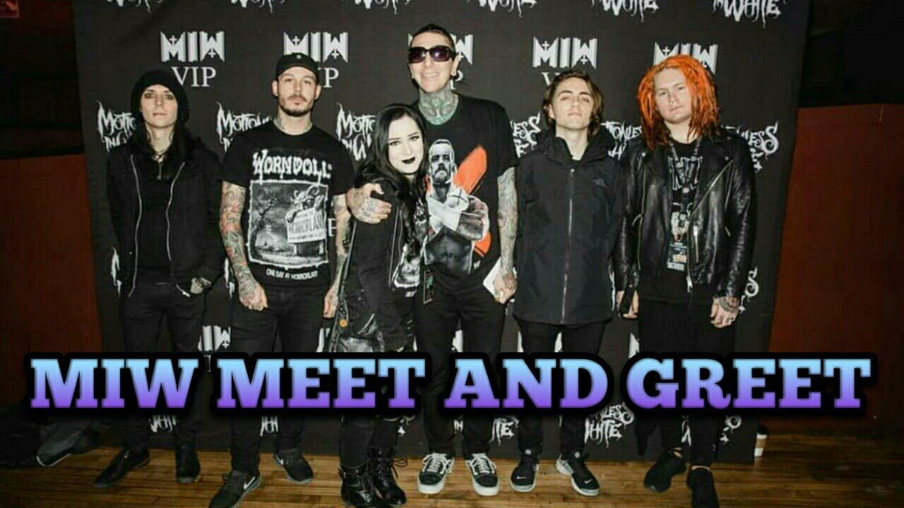 Motionless in white meet and greet at the end is here tour youtube motionless in white meet and greet at the end is here tour kristyandbryce Images