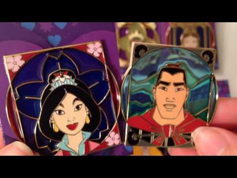 DISNEY ROYALTY LIMITED RELEASE MYSTERY PIN PACKS UNBOXING!