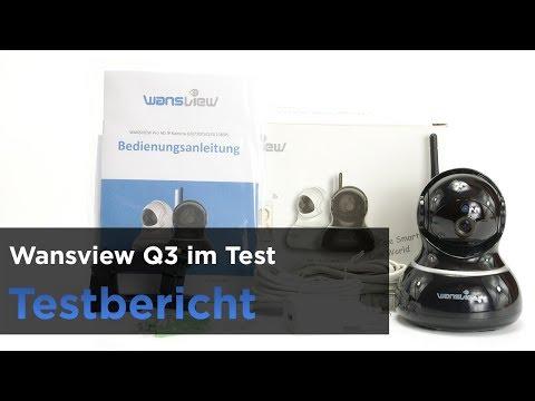 Die Wansview Q3 im Test - Installation, Elemente & Mehr