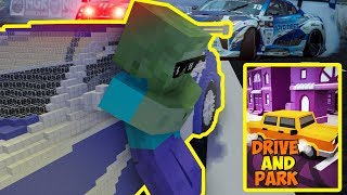 Monster School : DRIVE AND PARK GAME - Minecraft Animation
