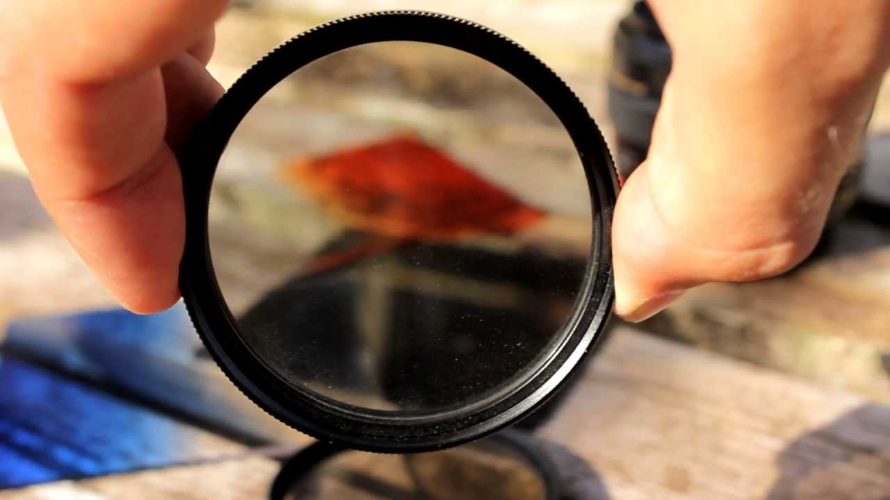 Simple demo shows the power of a polarizing filter: Digital