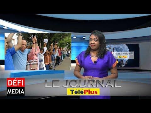 Le Journal Téléplus : Metro - des « boucliers humains symboliques » veulent défendre 270  arbres