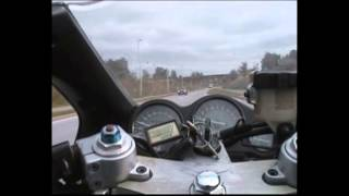 Yamaha YZF 600 Thundercat Video 3 Ringboulevarden Randers