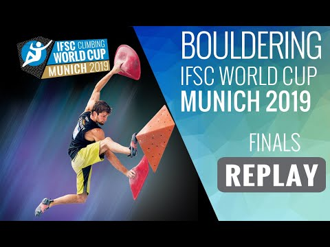 IFSC Climbing World Cup Munich 2019 - Bouldering Finals
