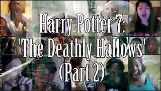 Blake Dale | Harry Potter 7: The Deathly Hallows - Trailer 2 (Reaction Mashup) - 8k subs bonus vid