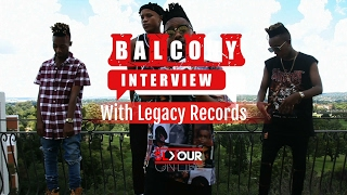 "Peep the legacy records crew perform l-tido's new single ""my clique"" on balcony interview."