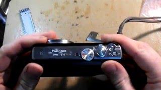 распаковка и замена дисплея на фотоаппарате panasonic lumix dmc-tz18