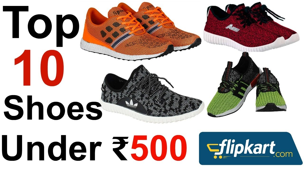 top 10 shoes under rs 500 | online shopping in india | in Hindi