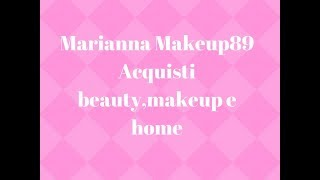 marianna makeup89 acquisti beauty makeup e home