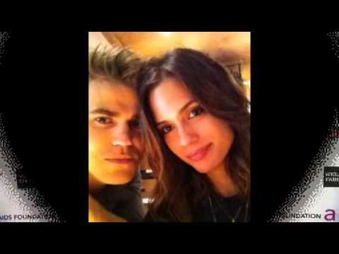 Paul Wesley & Torrey Devitto  I love you