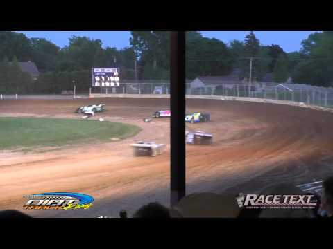Plymouth Dirt Track - July 5, 2014 - Late Model A-main event.