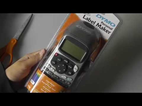First Look: DYMO LetraTag Plus Personal Label Maker