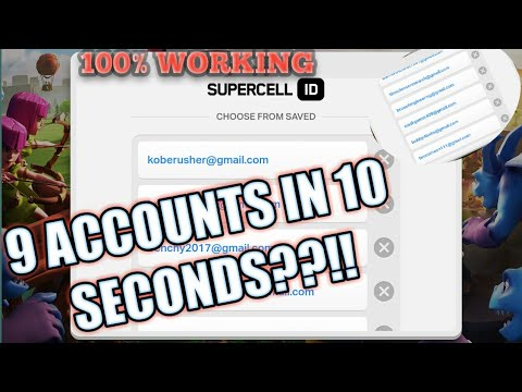 How To Use Supercell ID -  [How To Use Multiple Accounts]