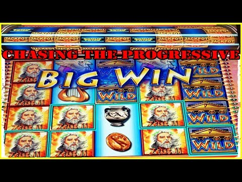 ★ CHASING THE PROGRESSIVE JACKPOT ★ ON LOTUS LAND SLOT MACHINE