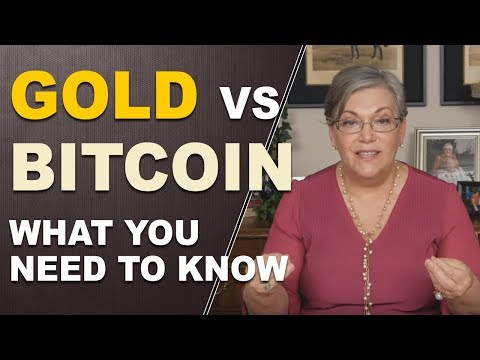 Gold vs Bitcoin - What you need to know...