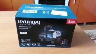 Автомобильный компрессор Hyundai HY45. смотреть