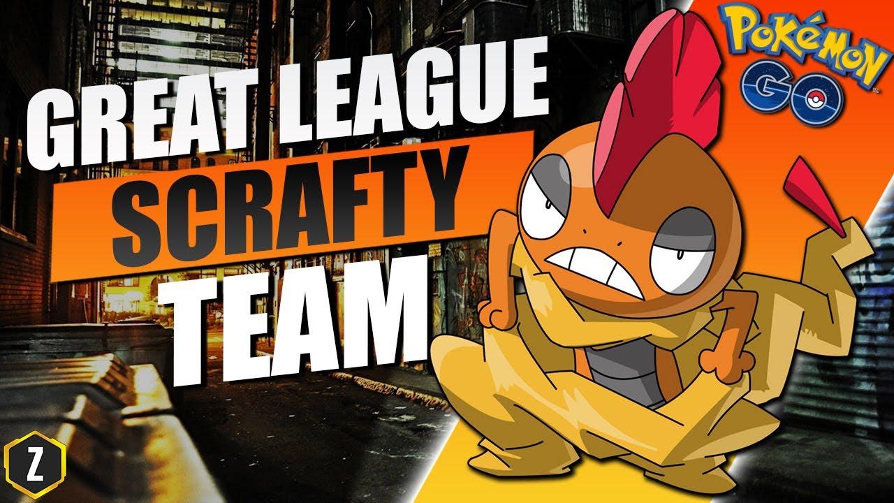 Crazy Strong Great League Team with Scrafty in Pokémon GO Battle League!