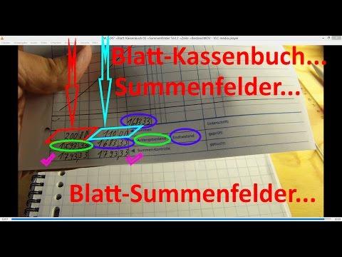 W_0247 =Blatt-Kassenbuch 03 =Summenfelder Teil 2 =Zeile- +Blatt-Bestand