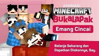 Bukalapak Emang Cincai! | Parody Animasi Minecraft Vania, 4Brother dan AniCraft
