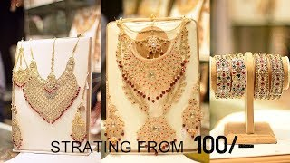 Jewellery  Market In Jama Cloth Market | Artificial Jewellery & Bridal Jewellery Collection