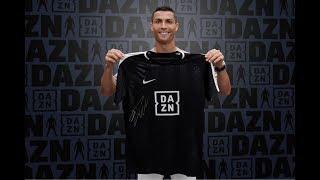 Intervista di Cristiano Ronaldo a DAZN (22/08/2018)