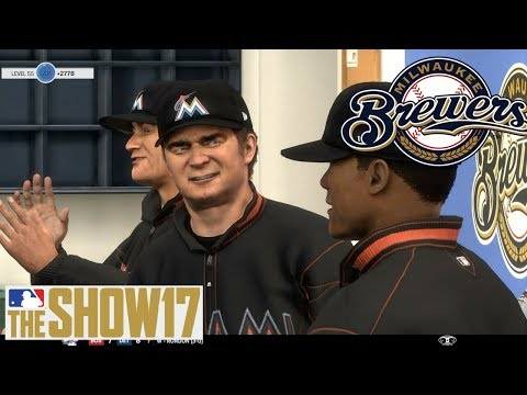 MLB The Show 17 Franchise - Milwaukee Brewers - WILD TRADE and Losing 1st place!