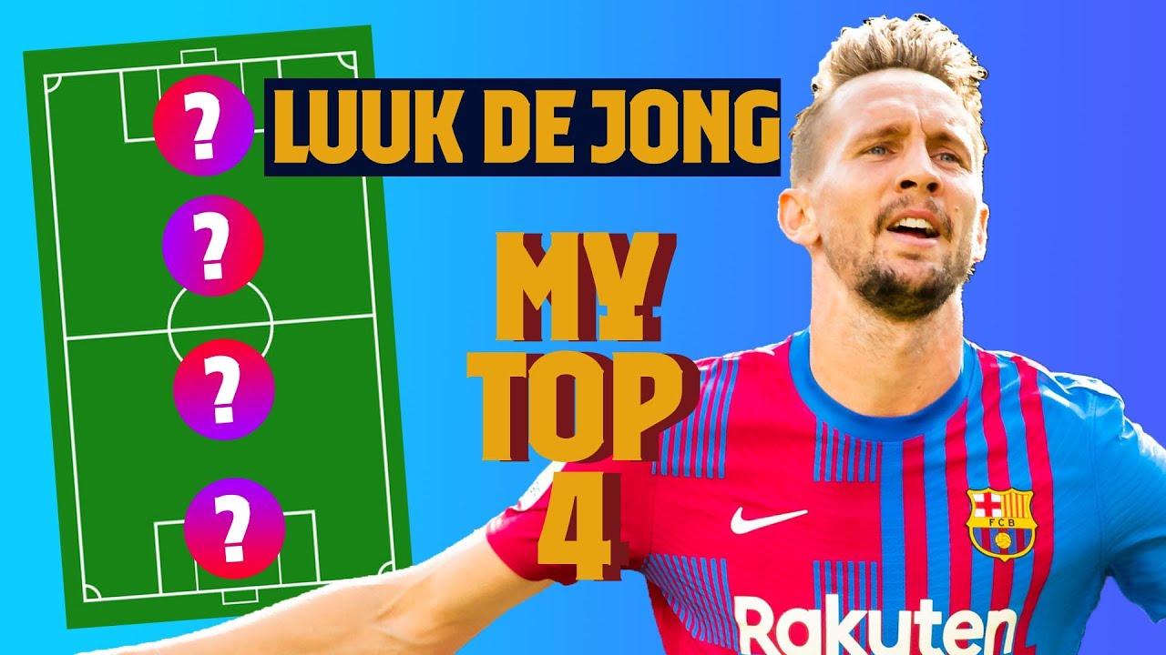LUUK DE JONG   MY TOP 4 (LEGENDS)